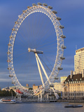 The Millennium Wheel (London Eye) with the River Thames in the Foreground, London, England, United  Photographic Print by Marco Simoni
