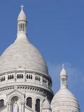 Sacre Coeur Basilica, Montmartre, Paris, France, Europe Photographic Print by Martin Child