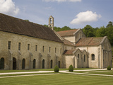 Fontenay Abbey, UNESCO World Heritage Site, Burgundy, France, Europe Photographic Print by Rolf Richardson