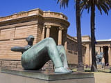 Reclining Figure by Henry Moore Outside Art Gallery of New South Wales, the Domain Park, Sydney, Ne Photographic Print by Richard Cummins