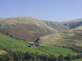 A Hill Farm in the Howgills, Cumbria, England, United Kingdom, Europe Photographic Print by James Emmerson