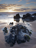 Combesgate Beach, Devon, England, United Kingdom, Europe Photographic Print by Jeremy Lightfoot