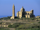 Ta' Pinu Church, Gharb, Gozo, Malta, Mediterranean, Europe Photographic Print by Stuart Black