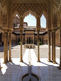 Alhambra, UNESCO World Heritage Site, Granada, Andalusia, Spain, Europe Photographie par Hans-Peter Merten