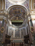 Interior St. Paul's Cathedral, Mdina, Malta, Europe Photographic Print by Nick Servian