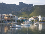 View across the Harbour, Port De Pollenca, Mallorca, Balearic Islands, Spain, Mediterranean, Europe Photographic Print by Ruth Tomlinson
