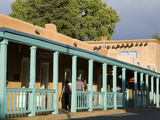 Palace Avenue, Santa Fe, New Mexico, United States of America, North America Photographic Print by Richard Cummins