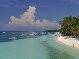 Alona Beach, Panglao, Bohol, Philippines, Southeast Asia, Asia Photographic Print by Luca Tettoni