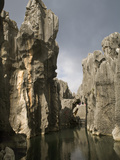 Stone Forest, Lunan Yi, Kunming, Yunnan, China, Asia Photographic Print by Rolf Richardson
