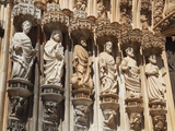 Apostles on the Doorway of Batalha Abbey (Mosteiro De Santa Maria Da Vitoria), UNESCO World Heritag Photographic Print by Stuart Forster