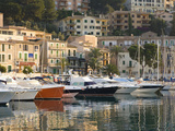View across the Harbour at Sunrise Port De Soller, Mallorca, Balearic Islands, Spain, Mediterranean Photographic Print by Ruth Tomlinson