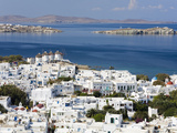 Mykonos Town, Island of Mykonos, Cyclades, Greek Islands, Greece, Europe Photographic Print by Richard Cummins