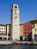 Apponale Tower, Piazza 3 Novembre, Riva Del Garda, Lago Di Garda (Lake Garda), Trentino-Alto Adige, Photographic Print by Sergio Pitamitz