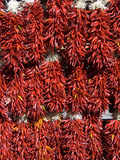 Chillies for Sales, Santa Fe, New Mexico, United States of America, North America Fotografie-Druck von Richard Maschmeyer