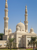 Jumeirah Mosque, Dubai City, Dubai, United Arab Emirates, Middle East Photographic Print by Neale Clark
