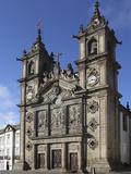The 17th Century Igreja De Santa Cruz (Holy Cross Church), Braga, Minho, Portugal, Europe Photographic Print by Stuart Forster