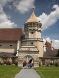 Tower and Gate at Courtyard of Renaissance Rosenburg Castle, Rosenburg, Niederosterreich, Austria,  Photographic Print by Richard Nebesky