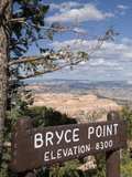 Bryce Point, Bryce Canyon National Park, Utah, United States of America, North America Photographic Print by Richard Maschmeyer