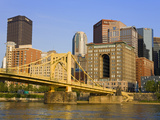 Pittsburgh Skyline and the Allegheny River, Pittsburgh, Pennsylvania, United States of America, Nor Photographic Print by Richard Cummins