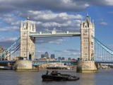Tower Bridge and River Thames, London, England, United Kingdom, Europe Photographic Print by Marco Simoni
