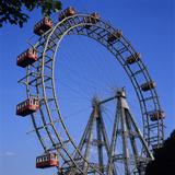 Prater Ferris Wheel Featured in Film the Third Man, Vienna, Austria, Europe Photographic Print by Stuart Black