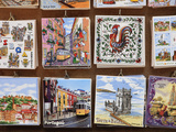Souvenir Tiles in Shop Display, Lisbon, Portugal, Europe Photographic Print by Vincenzo Lombardo