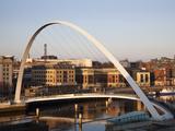 Gateshead Millennium Bridge, Newcastle, Gateshead, Tyne and Wear, England, United Kingdom, Europe Photographic Print by Mark Sunderland