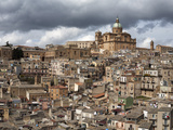 View over the Old Town, Piazza Armerina, Sicily, Italy, Europe Photographic Print by Stuart Black