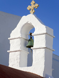 Church Bell Tower in Mykonos Town, Island of Mykonos, Cyclades, Greek Islands, Greece, Europe Photographic Print by Richard Cummins