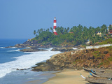 Vizhinjam, Fishing Harbour Near Kovalam and Kovalam Lighthouse, Kerala, India, Asia Photographie par  Tuul