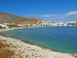Karavostasis Village and Principal Port, Folegandros, Cyclades Islands, Greek Islands, Aegean Sea,  Photographic Print by  Tuul