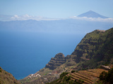 Mountain Landscape, La Gomera, Canary Islands, Spain, Atlantic, Europe Photographic Print by Adina Tovy