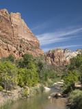 The Virgin River, Zion National Park, Utah, United States of America, North America Photographic Print by Richard Maschmeyer