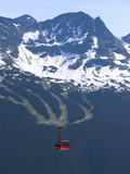 Whistler Blackcomb Peak 2 Peak Gondola, Whistler, British Columbia, Canada, North America Photographic Print by Martin Child