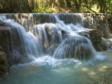 Kouang Si Waterfall and Pools, Near Luang Prabang, Laos, Indochina, Southeast Asia, Asia Photographic Print by Richard Maschmeyer