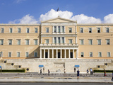 Parliament Building, Athens, Greece, Europe Photographic Print by Richard Cummins