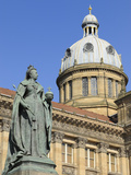 Queen Victoria Statue and Council House, Victoria Square, Birmingham, West Midlands, England, Unite Photographic Print by Chris Hepburn
