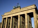 Brandenburg Gate at Pariser Platz, Berlin, Germany, Europe Photographic Print by Hans-Peter Merten