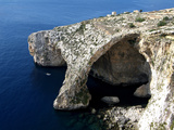 Blue Grotto Near Zurrieq, Malta, Mediterranean, Europe Fotoprint van Hans-Peter Merten