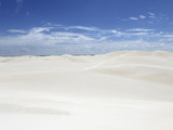White Sand and a Blue Sky at the Dunes at Lancelin, Western Australia, Australia, Pacific Photographic Print by Stuart Forster