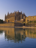 Palma Cathedral, Palma, Mallorca, Balearic Islands, Spain, Mediterranean, Europe Photographic Print by Ben Pipe