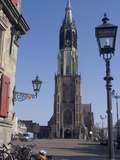 View of the Nieuwe Kerk (New Church) on the Market Square, Delft, Netherlands, Europe Photographic Print by Ethel Davies