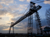 Transporter Bridge, Newport, Gwent, South Wales, Wales, United Kingdom, Europe Photographic Print by Billy Stock