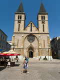 Sarajevo Catholic Church, Sarajevo, Bosnia and Herzegovina, Europe Photographic Print by Emanuele Ciccomartino