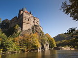 Kriebstein Castle and Zschopau River, Saxony, Germany, Europe Photographic Print by Michael DeFreitas