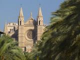 West Front, Palma Cathedral (La Seu), Palma De Mallorca, Mallorca (Majorca), Balearic Islands, Spai Photographic Print by Stuart Black
