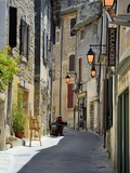 Traditional Old Stone Houses, Les Plus Beaux Villages De France, Menerbes, Provence, France, Europe Fotodruck von Peter Richardson