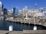 City Skyline from Darling Harbour, Central Business District, Sydney, New South Wales, Australia, P Photographic Print by Richard Cummins