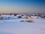 White Sands National Monument, New Mexico, United States of America, North America Photographic Print by Mark Chivers