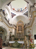 Interior of the Lady of Guadalupe Church, Puerto Vallarta, Jalisco, Mexico, North America Photographic Print by Michael DeFreitas